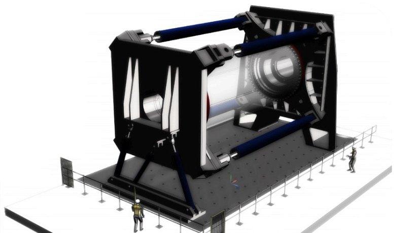 windkraft fraunhofer institut baut gro pr fstand f r rotorlager bergedorf bergedorfer zeitung. Black Bedroom Furniture Sets. Home Design Ideas